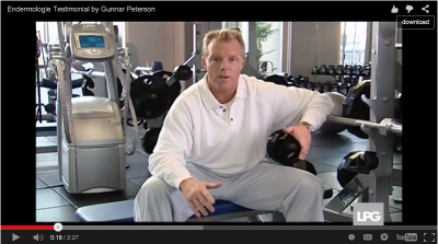 Endermologie Testimonial by Gunnar Peterson